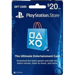 Tarjeta PlayStation Network PSN $20