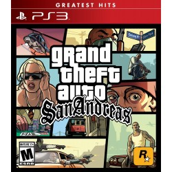 Grand Theft Auto GTA San Andreas PS3