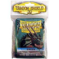 Dragon Shield Protector Estándar x50 Verde