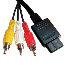 Cable A/V Alternativo Snes, GC, N64