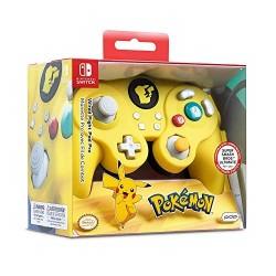 Control con Cable PDP Smash Pro Pikachu Nintendo Switch