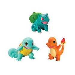 Set 3 Figuras Pokemon 2''