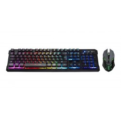 Pack Teclado Ghost Knight 2 Njoy Tech Teclado + Mouse