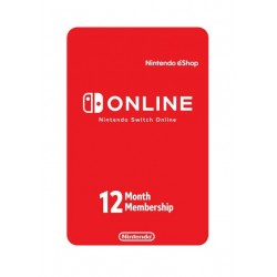 Nintendo Switch Online 12 meses Digital