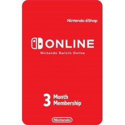 Nintendo Switch Online 3 Meses Digital