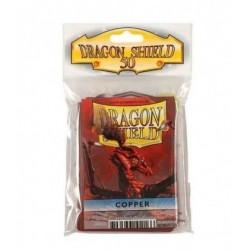 Protectores Dragon Shield x50 estándar Copper