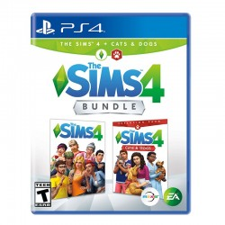 The Sims 4 Bundle Sims 4 + Sims Cat and Dogs PS4
