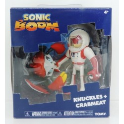 Pack 2 Figuras Sonic Boom Knucles + Crabmeat