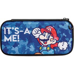 Estuche Switch Slim Travel Case Mario Camo Edition