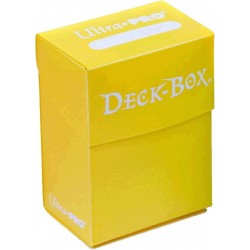 Deck Box Portamazo Monocolor Amarillo Ultra Pro