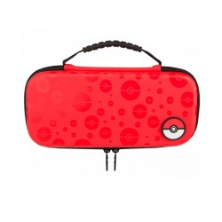 Estuche Switch Protective Case Pokeball Pattern Red