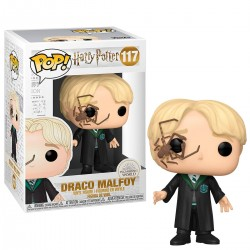 Funko POP Harry Potter Malfoy w/Whip Spider 117