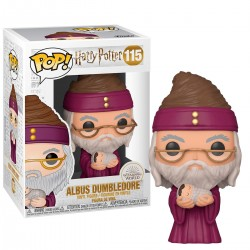 Figura Funko Pop Harry Potter Dumbledore w/Baby Harry Potter 115