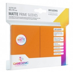 Protectores Essential Line Matte Prime Sleeves Orange x100