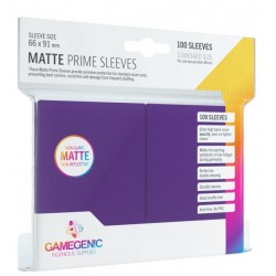 Protectores GG Essential Line Matte Prime Sleeves Purple x100
