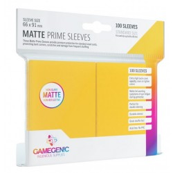 Protectores GG Essential Line Matte Prime Sleeves Yellow x100