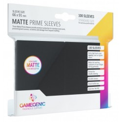 Protectores GG BGG Sleeves Matte Prime Sleeves Black x100