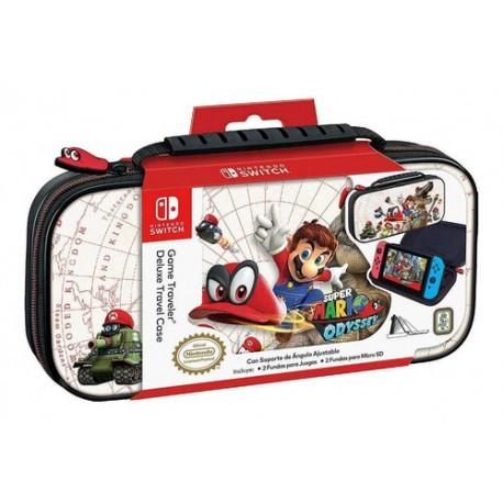 Estuche Deluxe Travel Case Super Mario Odyssey Switch