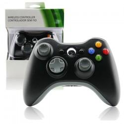 Control Inalambrico Xbox 360 Negro Alternativo