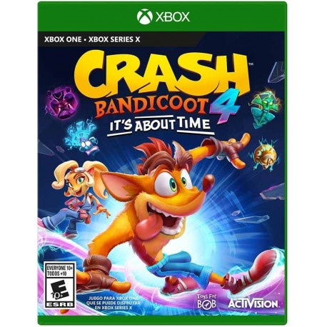 Crash Bandicoot 4 Its About Time Xbox One
