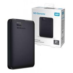 "WD® Disco Externo 2TB 2.5"" USB 3.0 Elements Negro"