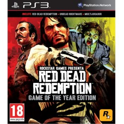 Red dead redemption game of the year ed.