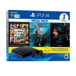 Consola Playstation 4 1TB Mega Pack 13