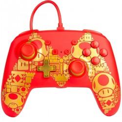 Control Nintendo Switch Mario Gold M USB