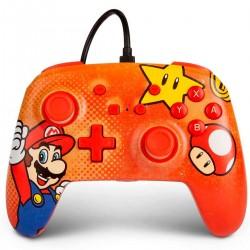 Control Nintendo Switch Mario Vintage Con Cable