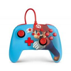 Control Nintendo Switch Mario Punch con Cable