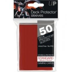 Protectores rojo Ultra Pro x50 Standard