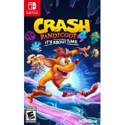 Crash Bandicoot 4 its About Time Switch