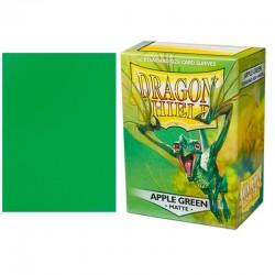 Protectores Estándar Matte  x100 Apple Green Dragon Shield