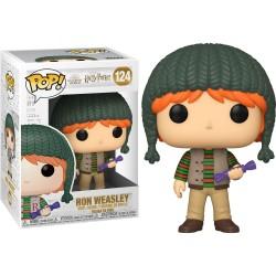 Figura Funko Pop Harry Potter Holiday Ron Weasley 124