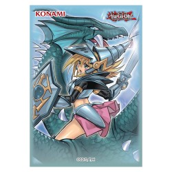 Protectores Dark Magican Girl The Dragon Knight Sleeves pack 50