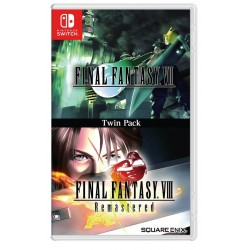 Twin Pack Final Fantasy VII & Final Fantasy VIII Remastered Switch