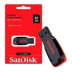 SanDisk Pendrive 32GB USB 2.0 Cruzer Blade