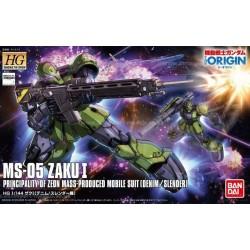 HG 1/144 Zaku Denim/Slender (MS-05 ZAKU I)