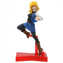 Figura Dragon Ball FighterZ Android 18