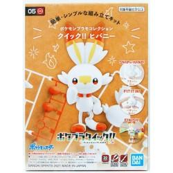 Pokemon Model Kit Quick 05 Scorbunny