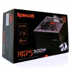 Fuente de Poder Redragon GC-PS001, 500W, 80 Plus-Bronze