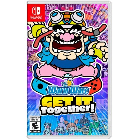 Wario Ware Get iT Together! Switch