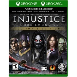 Injustice Gods Among Us Ultimate Edition Xbox 360 / Xbox One
