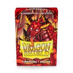 Protectores Dragon Shield Matte x60 Crimson Japanese