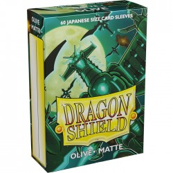 Protectores Dragon Shield Matte x60 Olive Japanese