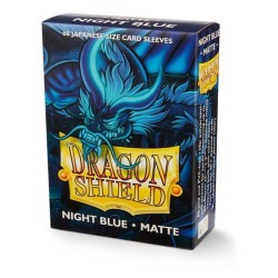 Protectores Dragon Shield Matte x60 Night Blue Japanese