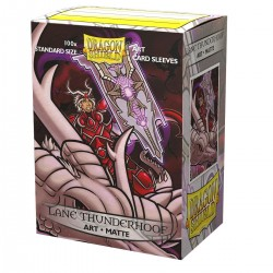 Protectores Dragon Shield Art Matte x100 Lane Thunderhoof: Portrait