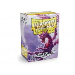 Protectores Dragon Shield Standard x100 Matte Clear Purple