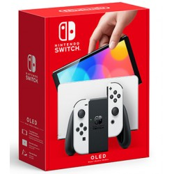Consola Nintendo Switch OLED White