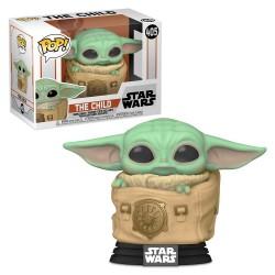 Figura Funko Pop Star Wars Mandalorian The Child in Carrier (Baby Yoda) 405